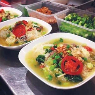 beehoon soup